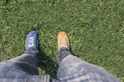 同じ靴を履き続けない